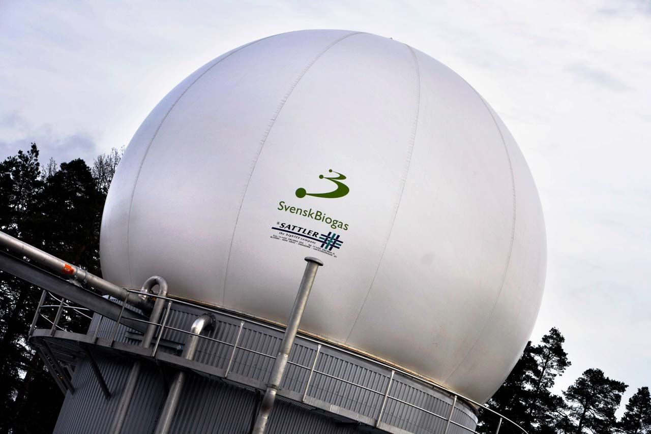 Biogas - Smart City Sweden