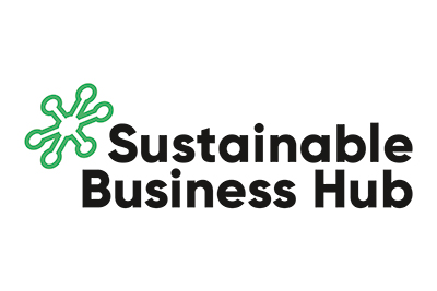Sustainable business hub logo