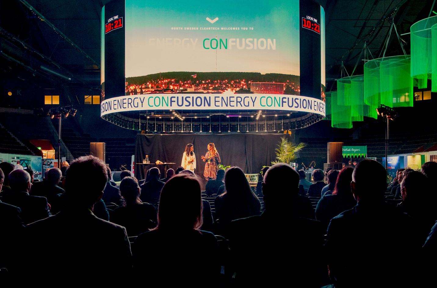 Women on state at Energy ConFusion